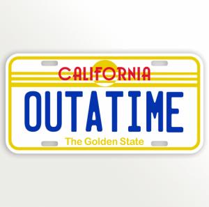 California Back To The Future