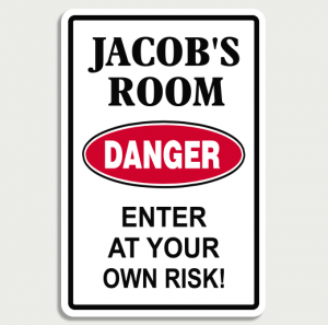 Danger Room Sign Name