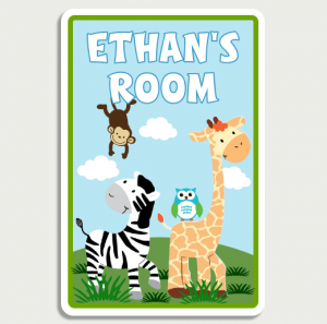 Jungle Room Sign Name