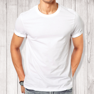 Man White T-Shirt