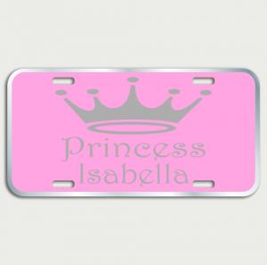 Princess Plate Name