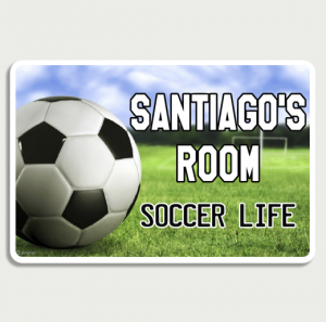 Soccer life Sign Name