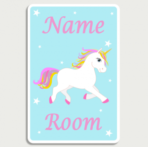 Unicorn Blue Name