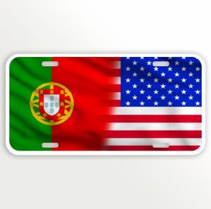 USA PORTUGAL FLAG