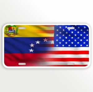 USA VENEZUELA FLAG