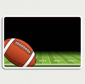 Football Field Sign