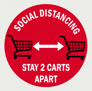 Social Distancing Floor Decal-7