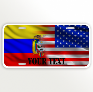 USA ECUADOR FLAG NAME