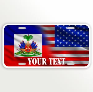 USA HAITI FLAG NAME