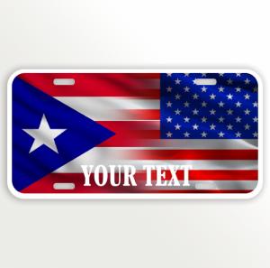 USA PUERTO RICO FLAG NAME