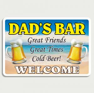Beach Bar Sign Name