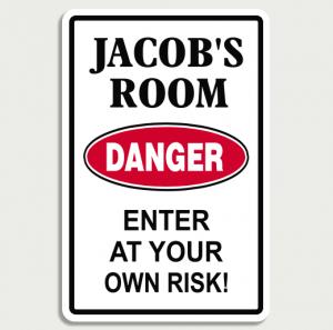 Danger Room Sign Name