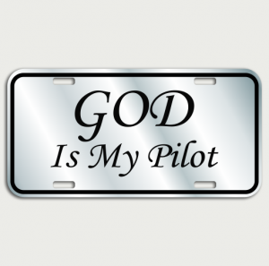 God is my pilot name