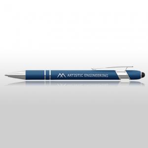 Blue Promotional Pen