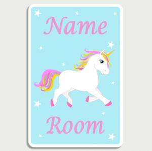 Unicorn Blue Name