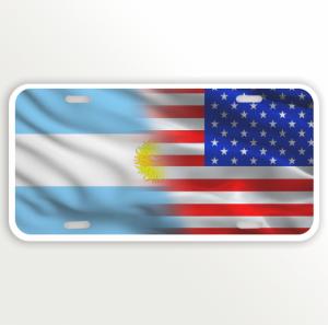 USA ARGENTINA FLAG