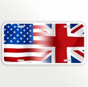 USA ENGLAND FLAG