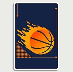 Basketball Orange Sign