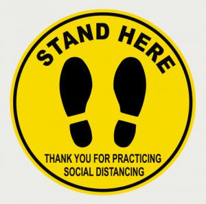 Social Distancing Floor Decal-4