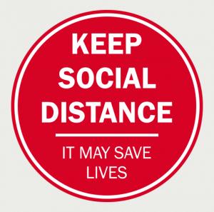 Social Distancing Floor Decal-6