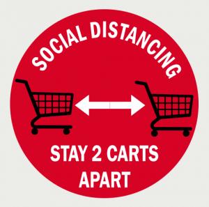 Social Distancing Floor Decal-7
