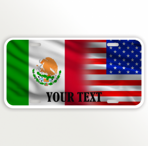 USA MEXICO FLAG NAME