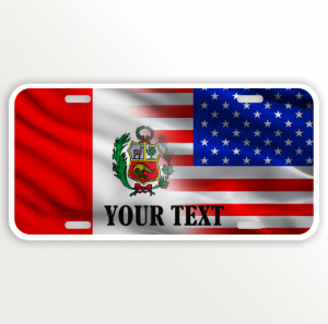 USA PERU FLAG NAME